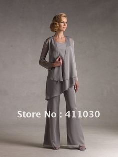 Wedding Dress Jacket Chiffon Silver