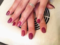 #nails #madebyme #termogel #pink