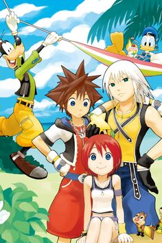 Kingdom Hearts In HD