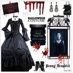 DIY Halloween Costume by mcheffer on Polyvore featuring mode, Dsquared2, Accessorize, WALL, halloweencostume and DIYHalloween