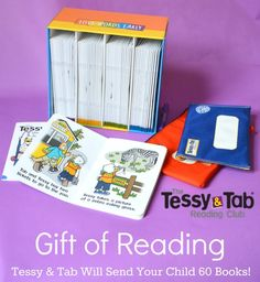 Beginning Reader Book Club: Tessy and Tab -- such a great idea! #sponsored