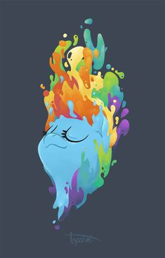 Rainbow Dash Melt