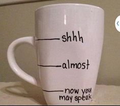 If I were to get another coffee cup, this would be one I would get. Works better with a clear cup so you can see where it's at....