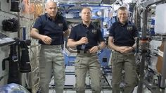 Join us as the crew of the ISS tells us what they think of NASA's plan to ignite a big fire in space, share what's on their space bucket lists, choose the best space snack, and demonstrate some synchronized space gymnastics.