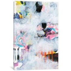 "East Urban Home Northern Exposure I Painting on Wrapped Canvas Size: 60"" H x 40"" W x 1.5"" D"