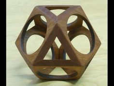 How to make the Wiffle Cube: Woodworking project - YouTube