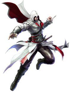 Ezio Auditore - Soul Calibur V