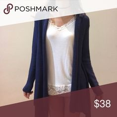 """Brand new hoodie knit cardigan Brand new, size M , length 30"""" bust open Sweaters Cardigans"""
