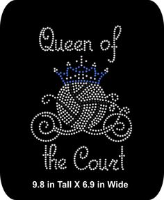 Rhinestone Iron-On Appliqué Volleyball Queen by School Spirit Posters, Cheer Posters, Volleyball Posters, Volleyball Outfits, Volleyball Ideas, Football Homecoming, Homecoming Ideas, Pep Club, Senior Games