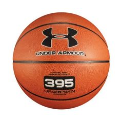 UA 395 Indoor/Outdoor Basketball Inflatables by Under Armour 6 Dark Orange by Under Armour. $24.99. Under Armour's exclusive UA GRIPSKIN microfiber composite gives this basketball a stonger grip, and gives you more game. Traditional channel design allows you to feel out the seams for better followthrough. Full ball pebbling, because UA doesn't cut corners. 80% Nylon windings provide durability and consistant bounce. 100% Butyl Bladder delivers ideal air tension, so the ball st...