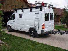 Sadly selling our 2006 Sprinter Sportsmobile. Sprinter Van Conversion, Camper Conversion, Mercedes Sprinter 4x4, Mercedes Benz, Van Home, Expedition Vehicle, Van Camping, Roof Rack, Campervan