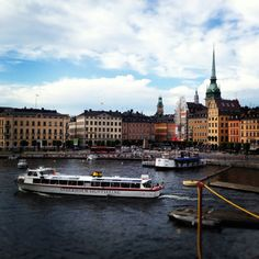 Stockholm, been there, seen that:)