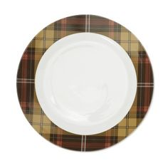 Autumn Plaid Charger #williamssonoma