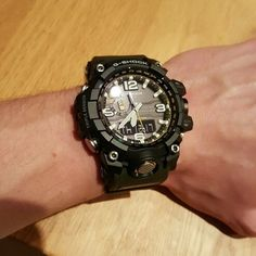 Casio G- Shock GWG- 1000- 1A3JF mud master. The Mudman New version on my wrist that is very tough and function is very useful. This my G-Shock military watch for every outdoor activities.
