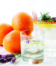Happy #NationalLavenderMonth! We wanted to celebrate this fragrant herb by sharing the Lavender Scented Orange Spa Water from the pages of our Spa Water Recipe Book, A Guide to Creating World Class Spa Water at Home, which was graciously provided by Willow Stream Spa at the Fairmont Scottsdale Arizona.