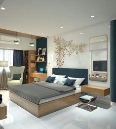 White Shiny Bedroom Gloss by Bharat R Kargathara Bedroom Goals, Room Design Bedroom, Bedroom False Ceiling Design, Wardrobe Design Bedroom, Master Bedroom Interior, Bedroom Furniture Design, Home Room Design, Home Decor Bedroom, Master Bedrooms