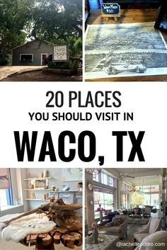 20 Places (besides Magnolia Market) that you should visit in Waco, Texas