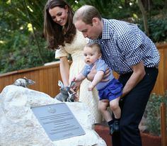 Pin for Later: Prince George's Most Adorable Royal Tour Moments  George's visit to the Taronga Zoo in Sydney, Australia, on April 20.