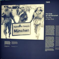 The Munich Documentation Center showcases exhibits covering time from the beginning of World War II until the collapse of the regime in 1945.