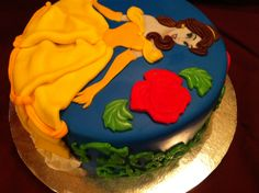 Belle, Beauty and The Beast Cake, November 2011