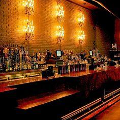 Noir Bar, Luxor Hotel - hidden mixologist bar behind the LAX nightclub stage