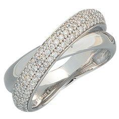 Damen-Ring 94 Diamant-Brillanten 14 Karat (585) Weißgold 0.64 ct. 54 (17.2) Dreambase, http://www.amazon.de/dp/B00AEEE2TM/ref=cm_sw_r_pi_dp_DNkjtb1HAGGQS