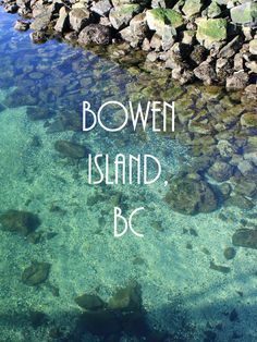 Spring getaway in BC -Bowen Island! Cool Places To Visit, Places To Travel, Places To Go, Travel Local, Maui Vacation, Vacation Spots, Salt Spring Island Bc, Bowen Island, Summer Travel
