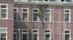(Pennhurst) Residents used to jump from these very windows to escape.