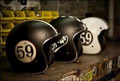 honda cafe racer Ducati Pantah vintage-cafe-racer-caferacer-bobber-brat-chopper-custom-motorcycle-culture-riding-gear-old-school-helmets-jos. Retro Helmet, Vintage Helmet, Vintage Cafe Racer, Motorcycle Style, Motorcycle Helmets, Racing Helmets, Women Motorcycle, Cb 450, Cafe Racer Helmet