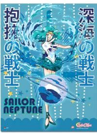 Cool new official Sailor Neptune wallscroll! --> http://www.moonkitty.net/reviews-buy-sailor-moon-posters-wallscrolls.php