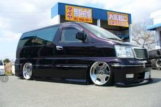 Nissan Elgrand, Vanz, Camper Van, Custom Cars, Vehicles, Wheels, Recreational Vehicles, Car Tuning, Travel Trailers