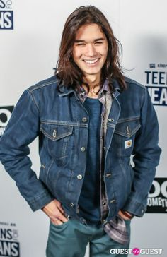 Booboo Stewart as Mordred. DON'T JUDGE ME!!!