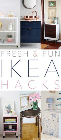 Fresh and Fun IKEA Hacks - The Cottage Market