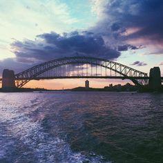 | nature and man |  #sydney#sydneyharbourbridge#cityofsydney#australia#architecture#bridge#harbour#sydneyharbour#sydneylife#sydneycity#landscape#landscape_lovers#landscapephotography#landscapephotographer#sunset#sunsets#sydneyphotographer#water#clouds#sydneyaustralia#circularquay#home#myhome#love#ferry#textures#textured#sydneyharbour#travel#traveller#travels by taligphotography http://ift.tt/1NRMbNv