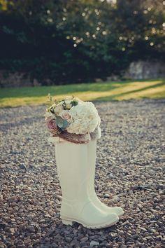 Ellingham Hall Justin Alexander wedding dress vintage wedding