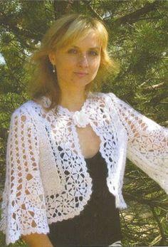 |How to crochet|: Crochet Patterns| for |Easy crochet bolero pattern...