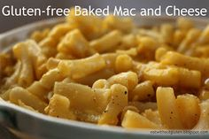 Eat Without Gluten: Gluten-free Baked Mac and Cheese