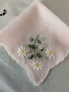 A personal favorite from my Etsy shop https://www.etsy.com/listing/603510803/vintage-madeira-embroidered-light-pink
