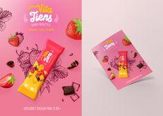 Cereal bar - Vita Tiens on Behance Chip Packaging, Beer Packaging, Food Packaging Design, Packaging Design Inspiration, Biscuits Packaging, Graphic Design Branding, Ad Design, Label Design, Creative Advertising