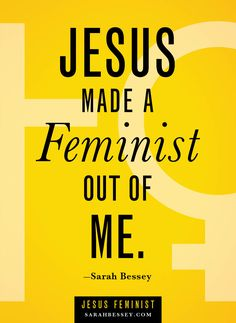 Jesus Feminist by Sarah Bessey. Sounds interesting. On the summer reading list!