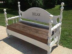 Repurposed Double Bed