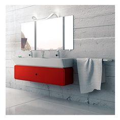 Applique salle de bain originale Nâga IP44 classe 2 C'est un luminaire de salle de bain chromé qui s'intègre parfaitement aux tendances des robinets de salle de bain. Grace à forme sinueuse, l'applique salle de bain Nâga dirige sa belle lumière autour d'elle pour un éclairage optimum sur votre espace. Pratique, cette Applique salle de bain design se glisse derrière n'importe quel miroir pour produire instantanément une ambiance contemporaine. Lamp Design, Double Vanity, Light Fixtures, Led, European Lighting, Bathroom Vanity, Wall Lamp Design, Bathroom, Point Light