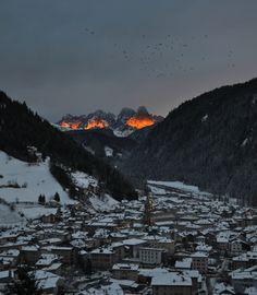 Sunset on Pale di San Martino by Sarah Brigadoi on 500px
