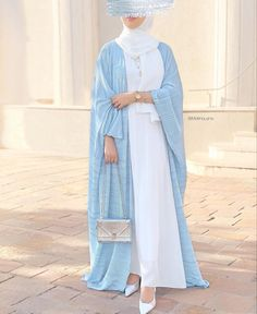 Modest Fashion Hijab, Modesty Fashion, Abaya Fashion, Dubai Fashion, Hijab Fashionista, Muslim Women Fashion, Islamic Fashion, Mode Abaya, Mode Hijab