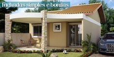 Decor Salteado - Blog de Decoração | Construção | Arquitetura | Paisagismo: Fachadas de Casas Simples, Bonitas e Pequenas!