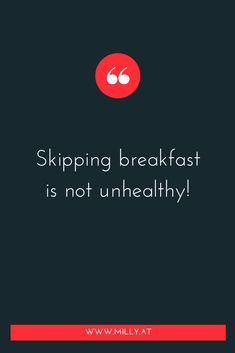 """I was always told that skipping #breakfast  was unhealthy..it would put your body into stress and then your body  would think, that there are not enough ressources! Also my mum used to  say """"Eat your breakfast, skipping it is unhealthy!"""" 🤣🤣 It's funny how different times encourage different beliefs about nutrition!  Turns out: skipping breakfast can actually be very healthy. This is if you adhere to a #diet called """"intermittent fasting"""". Science Facts, Food Science, Food Chemistry, I Feel Overwhelmed, Blog Categories, Fusion Food, Melting Pot, Biochemistry, It's Funny"""