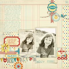 """Layout by Justine Hastie featuring """"Hometown Proud"""" coming 7/2 from Design by Dani at www.JessicaSprague.com!"""