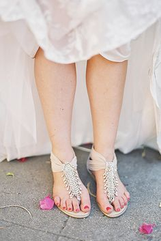 9c4d2da675ed5b Wedding Sandals Youll Want To Wear Again ❤ See more  http   www