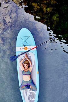YOGAqua in Marina Del Rey wearing Lululemon. Sup Stand Up Paddle, Surfboard, Lululemon, Yoga, Marina Del Rey, Surfboards, Surfboard Table