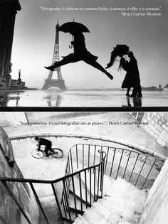 Frases de Henri Cartier Bresson para Fotografia.